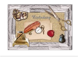 Embellishments / Verzierungen Die cut sheets with accessories from card stock, A4