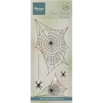 Transparent Stempel: Spinnewebe