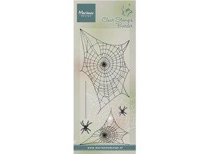 Marianne Design Transparent stamp: Spinnewebe