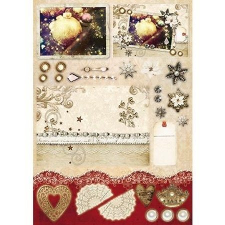BASTELSETS / CRAFT KITS: 3D die set for more than 12 projects!
