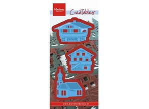 Marianne Design Punching and embossing template: Austrian village