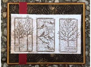 Leane Creatief - Lea'bilities Carpeta de Repujado: patrón Spinnewebe