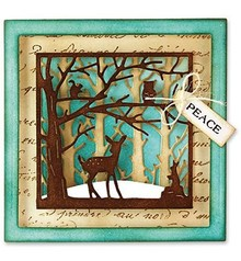 Marianne Design Punching and embossing template: 3D Forest Scene