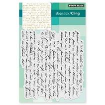 Transparant stempel: Script