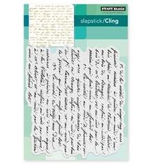 Penny Black Transparent stamp: Script