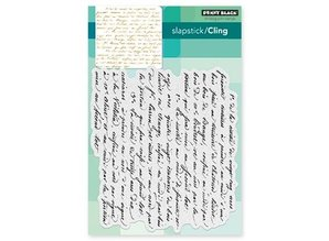 Penny Black Transparent stamp: Script