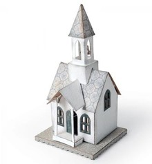 Sizzix stamping and embossing folder: Village Belltower