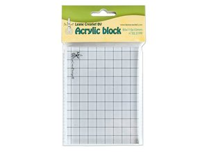 BASTELZUBEHÖR / CRAFT ACCESSORIES Acrylic block, 85x115x10mm