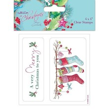 Stempel / Stamp: Transparent timbro trasparente: Inverno / Natale