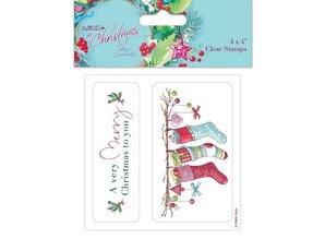 Stempel / Stamp: Transparent Transparent stempel: Vinter / Jul