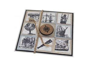 Joy!Crafts und JM Creation sello transparente: La vida es un viaje