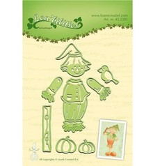 Leane Creatief - Lea'bilities Punching and embossing template: Scarecrow