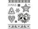Stempel / Stamp: Transparent Transparent stamps: Christmas Theme