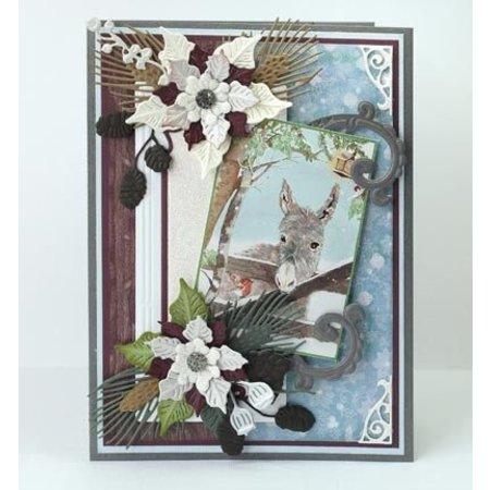 Marianne Design Stansning og prægning skabelon: Petras Twigs Sets