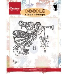 Marianne Design Transparent stamp: Doodle angel