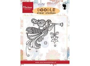Marianne Design Transparent stamp: Doodle angel