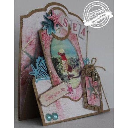 Marianne Design Stanz- und Prägeschablone: Romantic Summer