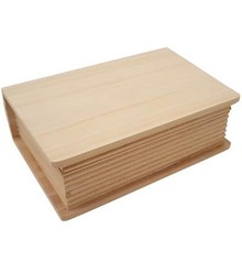 Objekten zum Dekorieren / objects for decorating Holzdose i bogform