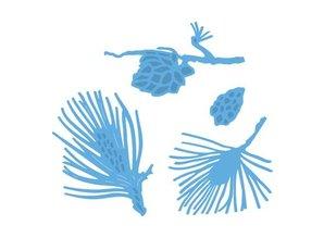 Marianne Design Stansning og prægning skabelon: Pine grene