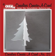 Crealies und CraftEmotions Punching and embossing template:. Card no 25 punch