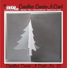 Crealies und CraftEmotions Stanz- und Prägeschablone: Card no. 25 Stanz