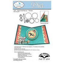 Punching and embossing template: Twist Circle popup Wafer Thin Metal The