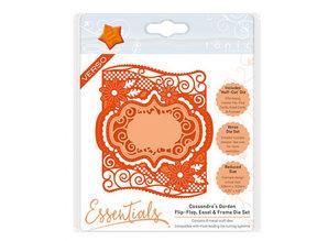 TONIC stamping and embossing folder: Flip Flop, Easel & Frame, Cassandra Garde
