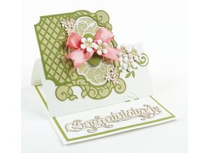 TONIC stamping and embossing folder: Flip Flop, Easel & Borders
