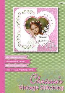 Bücher und CD / Magazines A4 magazine of Nelli Snellen, Chrissie`s Vintage Stitching