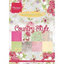 PrettyPapers Bloque Estilo Campo (PK9130)