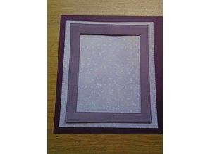 Creative Expressions Stansning og prægning skabelon: Stitched Lattice Frames