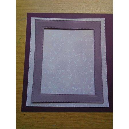 Creative Expressions Stanz- und Prägeschablone: Stitched Lattice Frames