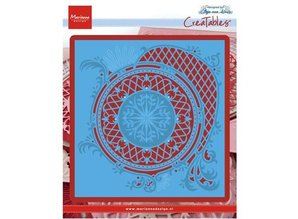 Marianne Design Punching and embossing template: Anja's circle XL