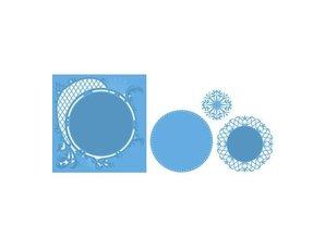 Marianne Design Stansning og prægning skabelon: Anja cirkel XL