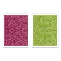 Gofrado carpetas: Conjunto Maroccan Daydreams