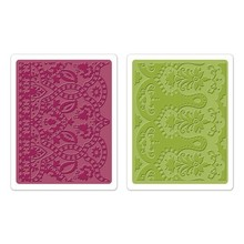 embossing Präge Folder Goffratura cartelle: Maroccan Daydreams Set