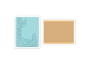 embossing Präge Folder Embossing folders: Butterfly Lattice Set