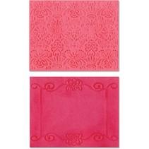 Gofrado carpetas: Vaya cuadro / Set Suculento