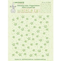 Embossing folders: stars