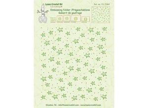 embossing Präge Folder carpetas de repujado: estrellas
