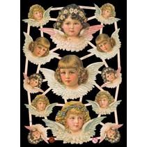Recortes, motivos 13 de ángel