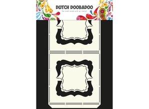 Dutch DooBaDoo A4 skabelon af hollandske Card kunst, Harmonica