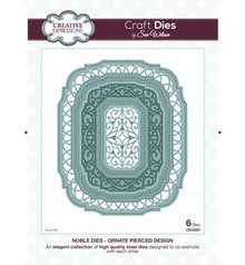 Creative Expressions Punching and embossing template: decorative frame Oval