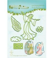 Leane Creatief - Lea'bilities Punzonatura e goffratura modello: Fairy / Angel
