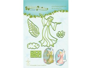 Leane Creatief - Lea'bilities Punching and embossing template: Fairy / Angel