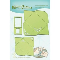 Punching and embossing template: Envelopes