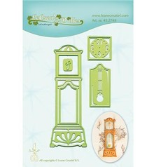 Leane Creatief - Lea'bilities Troquelado y estampado en relieve plantilla: Reloj de pie