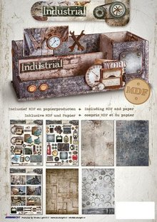 MDF Desk organizer incl. Paper Industrial