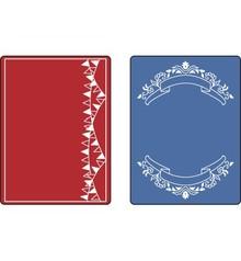 embossing Präge Folder Prægning mapper: Mini Bannere Set
