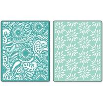 Embossing folders: Daisy Blast & Paisley Palooza Set